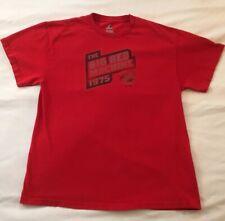 Mens Majestic Cincinnati Reds 1975 Big Red Machine T Shirt Adult Medium Cotton