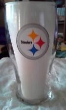 NFL Pittsburh Steeler Beer Glass; Budweiser Gamestime; 12 oz