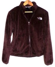 THE NORTH FACE WOMENS BROWN OSITO FLEECE JACKET SIZE-SMALL