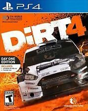 NEW Dirt 4: Day One Edition (Sony PlayStation 4, 2017)