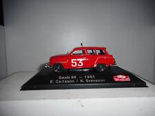 SAAB 95 RALLY MONTE CARLO 1961 CARLSSON #16 ATLAS IXO 1/43