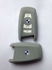 Bmw Key Fob Case Cover In 100% Silicone In Grey Or Black BMW Series 1/3/5/7