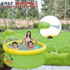 "70"" Inflatable Family Swimming Pool Outdoor Backyard Summer Lounge Water Fun Kid"