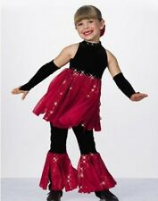 Twist and Shout Dance Costume Jumpsuit with Mitts Child X-Small 2-3yr New