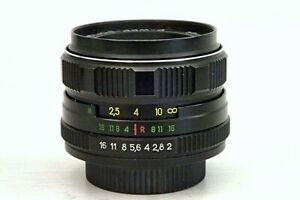Cameras Lens Helios-44М USSR For Macro Shooting On SLR Cameras gift zoom lens