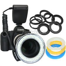 RF-550D 48pcs marco circular ring LED flash light f Canon Nikon Pentax Panasonic