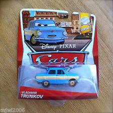 Disney PIXAR Cars VLADIMIR TRUNKOV on 2013 LEMON THEME CARD diecast 2/7 Vlad