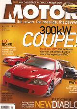 Motor May 01 XR6 GTHO HSV XU6 Maloo Allroad VR-X Maserati 3200 GT Jaguar XKR Xsa