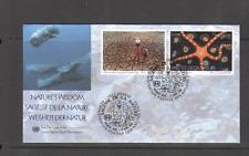 No ONU 2005 nature/Sagesse/Baleines 2 V FDC ref:n14462
