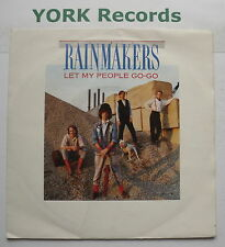 "RAINMAKERS - Let My People Go-Go - Excellent Condition 7"" Single Mercury MER 238"