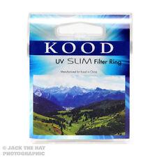 Kood 52mm Protector de filtro UV. Lente de cristal para todos los hilos de filtro de 52mm.