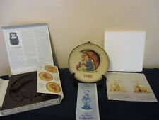 "Vintage Hummel 1982 Annual Plate ""Girl With Umbrella"" #275 Tmk-6 In Original Box"