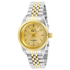 Invicta Women's Watch Gold Tone Dial Quartz Two Tone Gold Plated Bracelet 29405