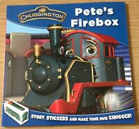 PETE'S FIREBOX Story & Sticker Book (CHUGGINGTON) NEW