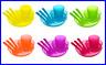 NEW 6pcs -Unbreakable and Reusable Full Set Dinnerware Utensils Kids - BPA Free