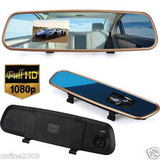 1080P HD 3.2'' Car DVR Dash Camera Cam Video Recorder G-sensor Rearview Mirror