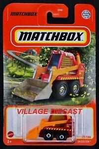 2021 Matchbox #77 (Bobcat®) Skidster™ (S100) RED / MATCHBOX COUNTY FIRE / MOC