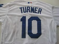 JUSTIN TURNER LOS ANGELES DODGERS  SEWN JERSEY SIZE 44 LARGE  NWT