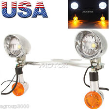 Passing Front Light Bar Bullet Turn Signals for Suzuki Intruder VS VL 1500 800