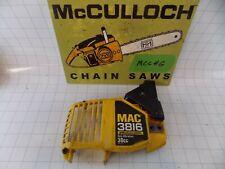Mcculloch 3200 2016 3800 3816 3500 1435 Fr chainsaw clutch bar cover chainbrake