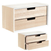 Mini Kommode MODERN Sideboard Schmuckschrank Aufbewahrung Schmuck Kasten Holz