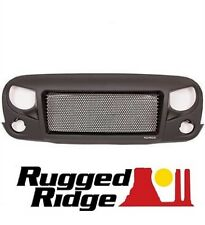 Rugged Ridge Spartan Grille w/ Plain Insert Kit 07-18 Jeep Wrangler JK 12034.01