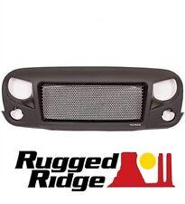 Rugged Ridge Spartan Grille w/ Plain Insert Kit 07-17 Jeep Wrangler JK 12034.01