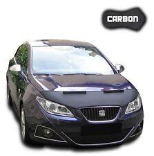Haubenbra Seat Ibiza 6J CARBON Car Bra Steinschlagschutz Automaske Tuning NEU