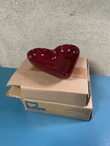 Pampered chef simple additions heart dish NIB