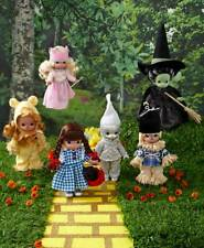 Precious Moments Wizard of Oz Doll Collection LOT