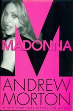 MADONNA BIO BY ANDREW MORTON 2001 BRAND NEW HARDCOVER BOOK FIRST US EDITION