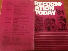 Reformation Today magazine, Issue 60 March- April 1981