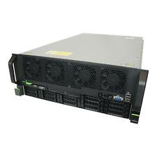 Fujitsu Primergy RX4770 M1 Server 4x E7-4870v2 @2.3Ghz 128GB RAM 2x 600GB SAS