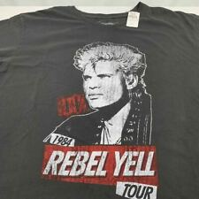 Prince Peter TShirt Billy Idol Rebel Yell Tour Short Sleeve 2XL Rare Made in USA