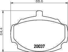 EBC Greenstuff Plaquettes Frein Avant Pour MG B GT 1.8 62-81 DP2107
