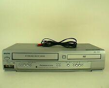 Sanyo DVD VCR Combo DVW-7200 DVD Player Video Cassette Recorder (No Remote)
