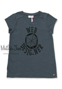 GIRLS Tween MATILDA JANE Moments With You Web Designer Tee SIZE 12 NWT