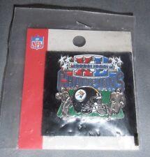 New NFL SUPER BOWL XL Champions Pittsburgh Steelers Seahawks 2006 Football Pin