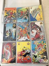 The Valiant Era 1993 Upper Deck 120 Trading Card Set In Plastic PAGES NM/M Comic