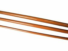 Olde Fly Shop Fiberglass Fly Rod Blank 7Ft 4Wt 3Pc Burnt Orange With Cloth Bag