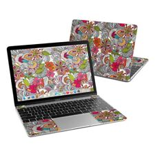 Apple MacBook 12in Skin - Doodles Color by Valentina Ramos - Sticker Decal