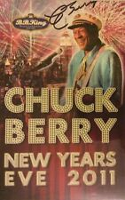 Chuck Berry Signed Auto Autographed Rare Menu Rock And Roll Hall of Fame And COA