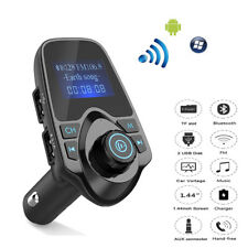 Car Kit Bluetooth FM Transmitter Wireless Radio Adapter USB Charger Mp3 Player