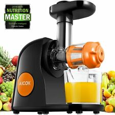 New Aicok Juicer Slow Masticating Juicer Extractor, Cold Press Juicer Machine