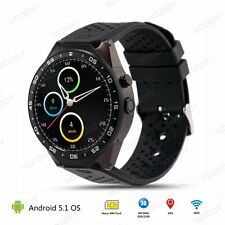 KW88 Android 5.1 3G Smart Watch Orologio Intelligente Quad Core 4GB WiFi GPS BT