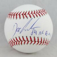 Doc Gooden Autographed Rawlings OML Baseball w/ 84 NL ROY - JSA W Auth