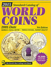 Standard Catalog of World Coins 2015  Brand New & free Shipping 1200 pages