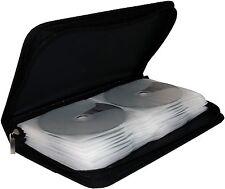 MediaRange Mappe für 48 CD / DVD / BD BOX51 Tasche Wallet Box schwarz