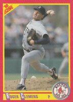FREE SHIPPING-MINT-1990 Score #310 Roger Clemens Boston Red Sox Baseball Card