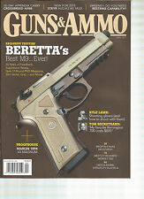GUNS & AMMO  MAGAZINE   APRIL  2015   ( NEW FOR 2015 STEYR AUG/A3 M1 MUD )